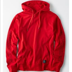 American Eagle Outfitters Shirts - ****** SOLD *******AE GRAPHIC HOODIE TEE